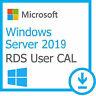 License Windows Server 2019 RDS 50 USER / DEVICE Remote Desktop Service CALs ,OS