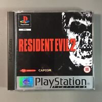 Resident Evil 2 - PS1 PAL 1998 - Very Good Condition - Tested Good -  Free P&P