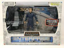 Star Trek Art Asylum Archer Broken Bow Deluxe Enterprise Bridge Base NEW