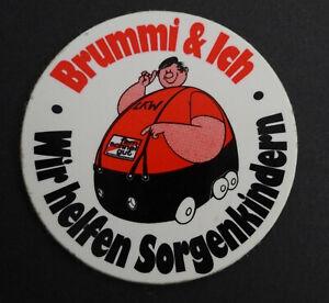 Bumper Stickers Brummi & Ich We Help Sorgenkindern Fern-Schnell-Gut Truck