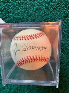 Joe DiMaggio Signed Autographed Official American League Baseball Yankees