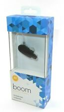 New Sealed Motorola Hx600 Boom Bluetooth Hd Wireless Headset Black (89605N)