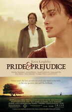 PRIDE AND PREJUDICE Movie Promo POSTER D Keira Knightley Talulah Riley