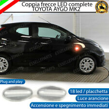 PLACCHETTE A LED FRECCE LATERALI 18 LED SPECIFICHE TOYOTA AYGO MK2 CANBUS