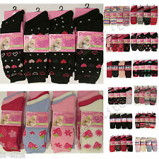 Ladies Thermal Socks 12 Pairs Women Winter Sock Warm Thick Boot Socks Size 4 - 7