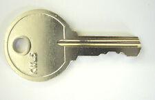 Cotswold upvc double glazed window key  KWL5 replacement window handle key