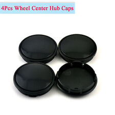 4Pcs 58mm 53mm Car Wheel Hub Center Caps Decoration Cover High Quality Black ABS