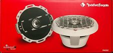 "Rockford Fosgate Punch PM262 150 Watts 2-Way 6"" White Marine Speakers"