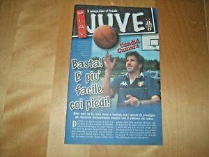 IL MAGAZINE UFFICIALE PLAY JUVE=N°7/2001=DEL PIERO