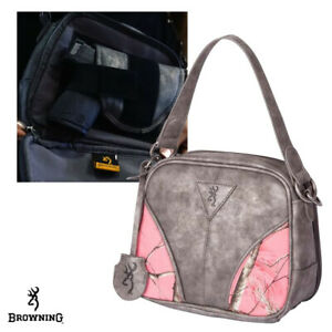 Browning WMNS Ivy Concealed Carry Handbag- Sugar Coral/Pink RTAP
