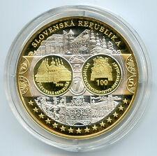 Medaille Europa Slowakei Reines Silber 2010