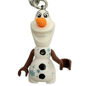 LEGO Disney Frozen 2 Olaf Key Chain Moveable Arms Snowman
