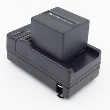 Battery + Charger for HITACHI DZ-MV350 DZ-MV380 DZ-MV550 DZ-MV580 DVD Camcorder