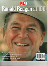 RONALD REAGAN AT 100 U.S. PRESIDENT SOFT COVER BOOK W/ PHOTOS OUT OF PRINT LIFE