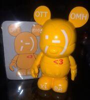 DISNEY VINYLMATION 3 Urban Series 6 Orange Texting Xlr8 Non Variant With Card