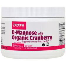 Jarrow Formulas D-Mannose with Organic Cranberry - 2.9 oz