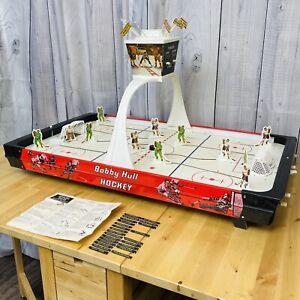 VINTAGE MUNRO TABLE HOCKEY GAME #3901 BOBBY HULL MINNESOTA CHICAGO USA 1971