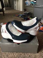 78421a18c7f2 Air Jordan XIX 19 East Coast 2005 Sz 10 307546 Nike White Red Navy Men s  Retro