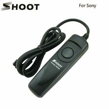 SHOOT RM-S1AM Remote Cord Shutter Release For Sony a100/a200/a300/a350/a700/a900