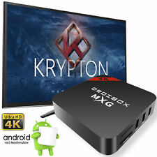 MXG Quad Core Android 6.0 TV Box 17.1 KODI 4K UHD Media Player Pro-Streamer WIFI