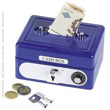 Caisse avec combinaison Tirelire 14021 bleu Goki - Neuf