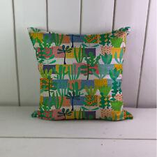 Tropical Cactus Linen Cushions Cover Sofa Throw Pillow Case