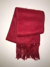 ALPAKA SCHAL aus WOLLE von alpaca Diana, Rot original aus Peru #255
