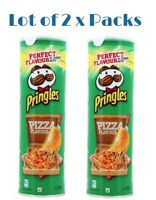 Pringles Chips Potato Flavored Pizza 175G Lot of 2 packs