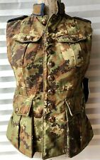Dsquared2 Camouflage Padded Bodywarmer/Gilet Size 42 UK 10 Made In Italy RRP£870