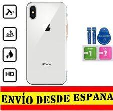 Cristal Templado Protector Pantalla Trasero APPLE IPHONE X / 10 SET LIMPIEZ FUL