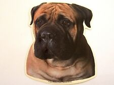 Bullmastiff Dog Breed Double sided Color Decal Car Sticker New