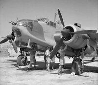 WW2  Photo WWII RAF Bristol Beaufort 217 Sqdn. Malta World War Two Britain /5202