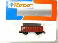 Roco 46043 H0   Hochbordwagen Ommp 50 der DB mit KK-Kulissen - wie neu OVP