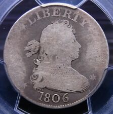 1806 DRAPED BUST QUARTER PCGS AG03 NICE ORIGINAL LIGHT GREY WITH LIGHTER DEVICES