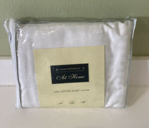 NIP Bloomingdales At Home Courtney Striped King Duvet Cover