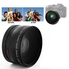0.45X 58mm Groothoek lens met Macro voor Canon 350D / 400D / 450D / 500D / 1000D