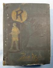 Bill Nyes Remarks By Edgar W Nye Antique Book 1900 Thompson & Thomas (O) AS IS