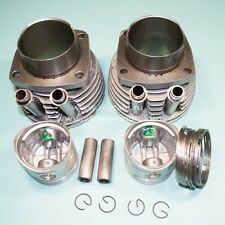 URAL 650cc cast iron cylinders set (pistons, pins, rings). NEW!