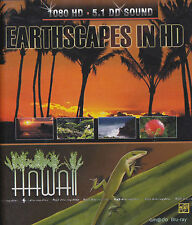 [BRAND NEW] BLU-RAY DVD: EARTHSCAPES IN HD: HAWAII