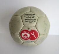Seltener Original Autogrammball von Tusem Essen Saison 1989/1990