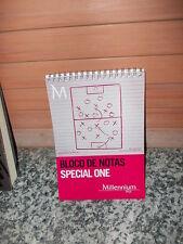 Bloco De Notas Special One, Millennium bcq, Notziblock
