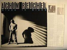 """ACHIM REICHEL """"BLUES IN BLOND"""" LP"""