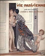LA VIE PARISIENNE 1938 N° 11 LEONNEC - FOURNIER