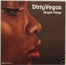 Dirty Vegas Simple Things RARE REMIX & NEW ALBUM VERSION PROMO DJ CD Single