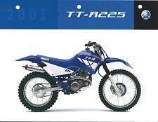 Motorcycle Brochure - Yamaha - TT-R225 - 2001 (DC491)