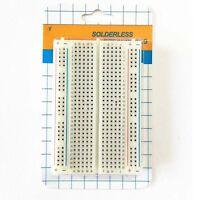 Breadboard Prototype Solderless Protoboard Test Board 400 Contacts Tie Points