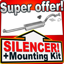 Middle Silencer MITSUBISHI PAJERO II 2.5TD 3.0 LWB 4X4 90-96 Exhaust Box CDT