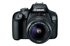 "Canon EOS 4000D 18-55mm 18mp 2.7"" DSLR Camera New Cod Agsbeagle"