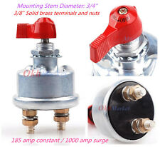Waterproof Master Battery Disconnect Cut/Shut Off Safety Kill Switch for Trailer