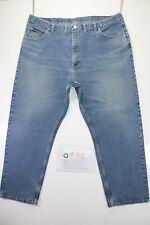 Wrangler regular fit big size (Cod.Q336) Tg.60  W46  L30  jeans usato.